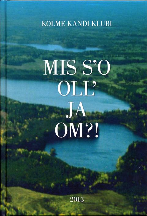 Lui Niilo Missot tutvustava raamatu esikülg